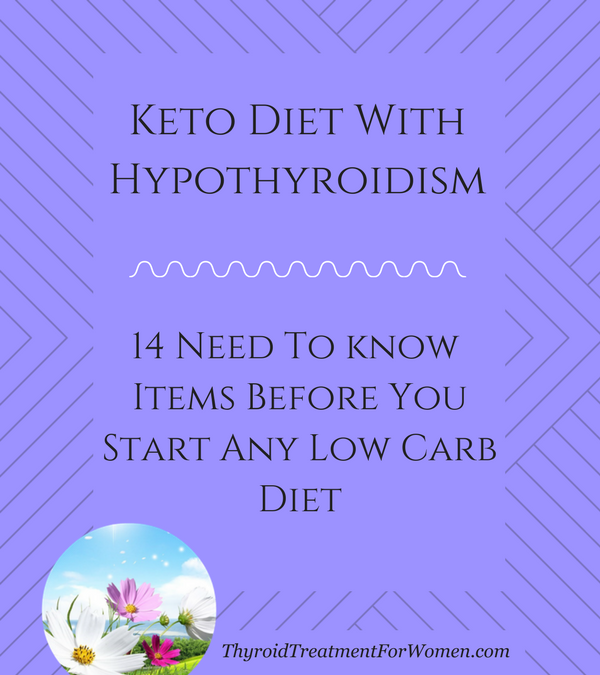 Ketosis And Thyroid Health | All Articles about Ketogenic Diet
